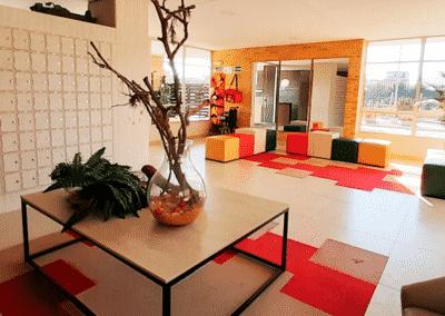 Lobby Viantt apartamentos