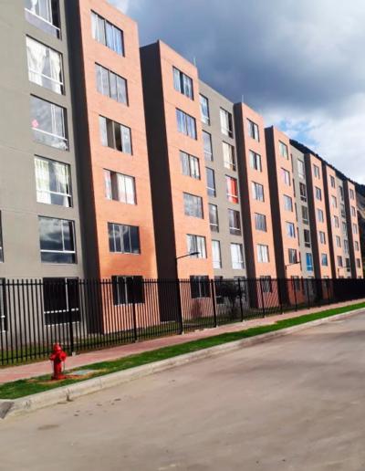 Proyecto de vivienda Rubí vista externa